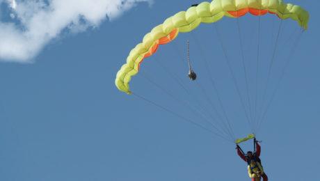 saut-parachute