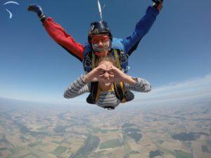saut en parachute reims