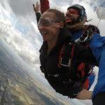 Saut en parachute au dessus de Reims