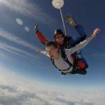 Temps saut en parachute