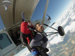 Tenue saut en parachute