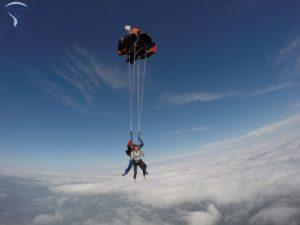 ouverture saut en parachute